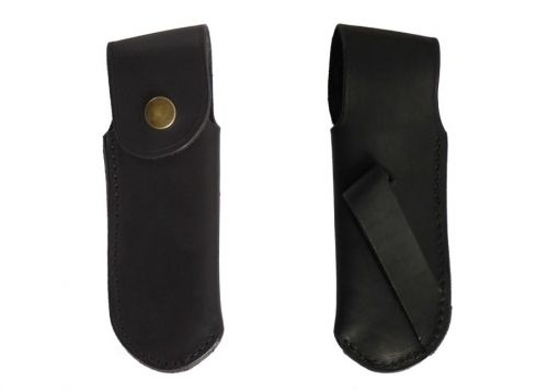 Black Belt Sheaths Leather, for Hunting Knife