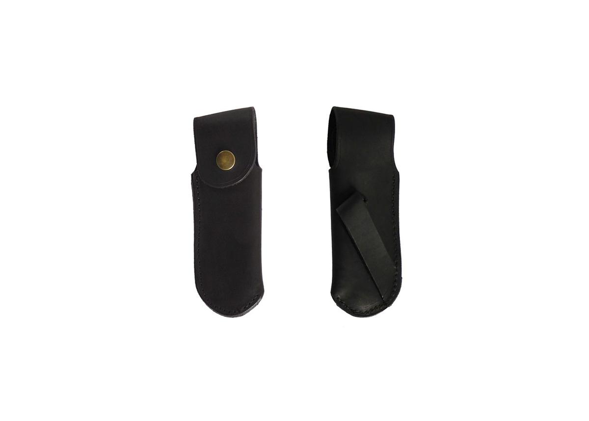 Black Belt Sheaths Leather, for Hunting Knife