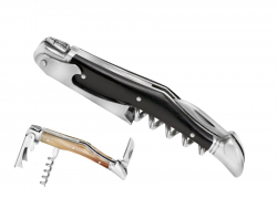 laguiole corkscrew, Wine Opener Ebony Handle
