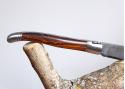 Couteau Laguiole avec lame Damas forgée artisanale et son manche en Bois de Fer d'Arizona