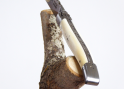 Laguiole Forged Chopped, with its Bone Handle