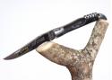 Couteau Laguiole Tire-bouchon avec son manche en corne brune