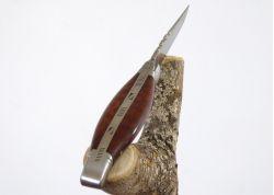 Couteau Laguiole bombé - manche en bois d'amourette - mitres an acier