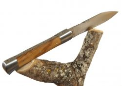 Roquefort knife with its Sicilian Olive wood Handle with its Sicilian Olive wood handle