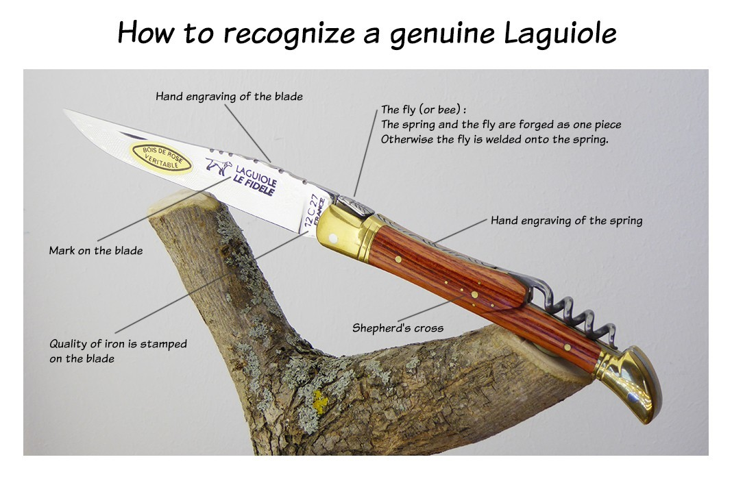 How to recognize a truth Laguiole knife
