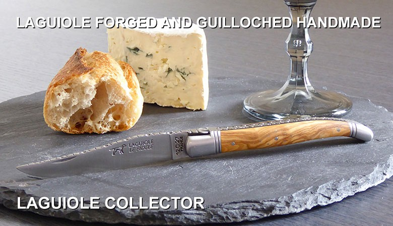 LAGUIOLE FORGED CHOPPED AND GUILLOCHED HANDMADE