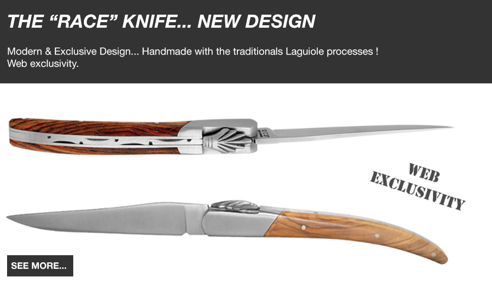 THE RACE KNIFE NEW MODERN DESIGN