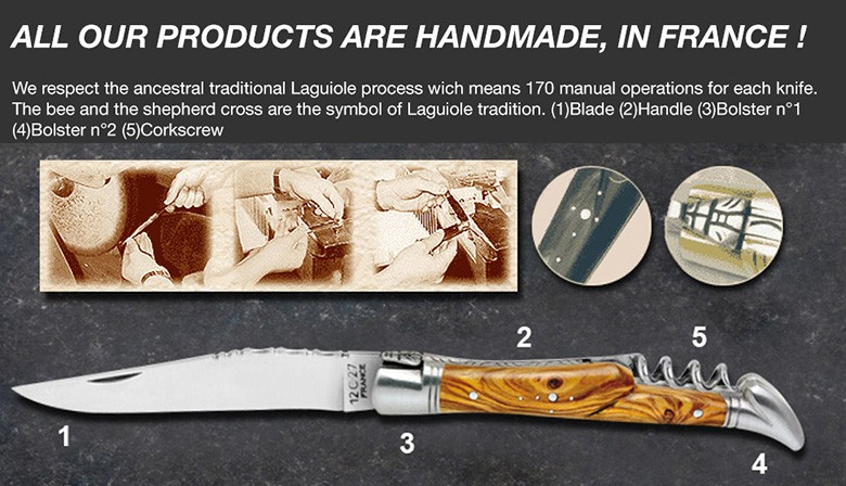LAGUIOLE KNIVES HANDMADE IN FRANCE